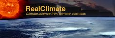 RealClimate: Climate science from climate scientists. This image links to the 'start here' page - resources for beginners, those with some knowledge, and the informed who need more detail.