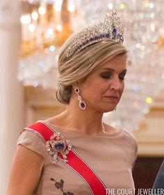 HAAKON MOSVOLD LARSEN/AFP/Getty Images     Time for the second installment of tiaras from King Harald and Queen Sonja of Norway's birthday...