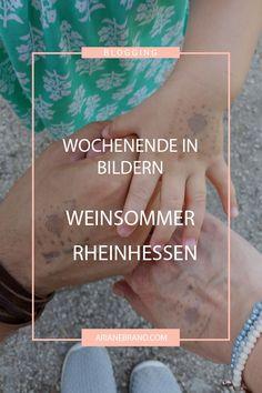 Wochenende in Bildern: Weinsommer in Rheinhessen - schaut gleich mal auf dem Blog nach unserem wunderbaren Wochenende!!! #wib #wochenende #weinsommer #rheinhessen #sommer