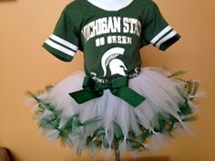 MSU whiteout tutu handmade by Tutu Cute N Sweet. starting at $25 (infant to adult)