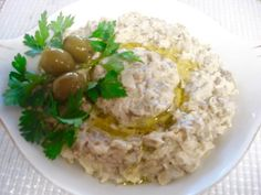 Baba Ganoush is a delicious eggplant dish that originated in Lebanon. It's super easy to make and tastes phenomenal. I love it extra because it's full of fiber!