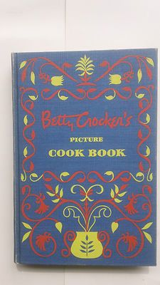 VINTAGE FIRST EDITION, SIGNED, 1950 BETTY CROCKER'S PICTURE COOK BOOK, WITH CASE