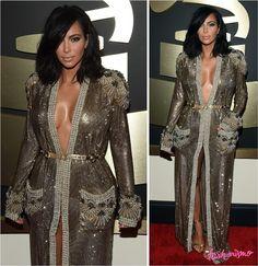 Grammy 2015: Kim Kardashian E Kanye West