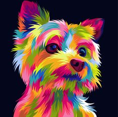 Fiverr freelancer will provide Illustration services and Draw your pets into fun… Fiverr freelancer will provide Illustration services and Draw your pets into funny pop art vector including High Resolution within 3 days Colorful Animal Paintings, Colorful Animals, Dog Pop Art, Dog Art, Art And Illustration, Animal Drawings, Art Drawings, Tatoo Dog, Portraits Pop Art