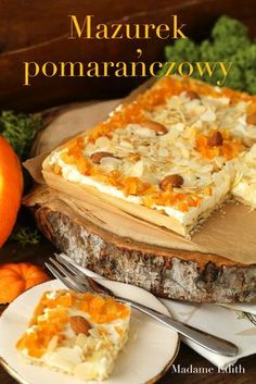 Raw Food Recipes, Sweet Recipes, Cooking Recipes, No Bake Desserts, Delicious Desserts, My Favorite Food, Favorite Recipes, Polish Easter, Polish Recipes