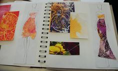 Textiles/Fashion Sketchbook Ideas