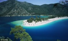 Beach at Olu Deniz Turkey