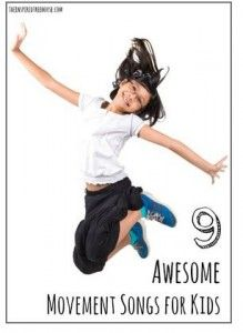 Pediatric Therapy Corner: 9 Awesome Movement Songs for Kids - pinned by @PediaStaff – Please Visit ht.ly/63sNtfor all our pediatric therapy pins