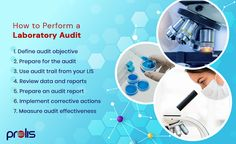 Laboratory audit is important to monitor the effectiveness of the laboratory quality management system, provide feedback to staff, and prevent future errors. If you want to simplify your audit process, follow these steps and start using a lab information system. #LIMS #LIS #Prolis #labaudit Laboratory Information Management System, Monmouth County, Health Organizations, Technology Design, Medical Science, Microbiology, Custom Labels, Clinic, Monitor