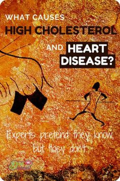 What causes high cholesterol? The true relationship between cholesterol and heart disease is actually unclear. How influential are animal fats we eat? Some experts claim to know, but they don't. #cholesterol #heartdisease #atherosclerosis #highcholesterol
