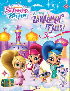 Free Downloadable Shimmer and Shine Coloring Book! Click through to check out this FREE Shimmer and Shine Coloring book and share it with your kiddos. We heart free coloring pages!