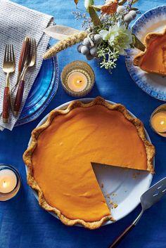 Brown Butter Sweet Potato Pie Recipe Southern Living Nov 2016