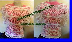 Amor a Arte: Blusa de Crochet de grampo Duna