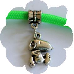 Paracord Charms - Snoopy Charms, 550 Paracord, Snoopy, Bracelets, Silver, Leather, Stuff To Buy, Jewelry, Jewlery