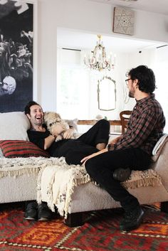 Adir & Marcello's Worldly Retreat — Pride at Home: House Tour Greatest Hits | Apartment Therapy