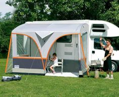 pictures of side tents on vans - Google Search Thinking of getting one of these for my conversion van for more space for the kids.