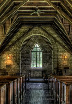 Pine Mountain Settlement School Chapel, designed by Mary Rockwell Hook, Harlan County, Kentucky