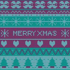 Ribbon On Christmas Tree, Christmas Knitting, Free Pattern, Vector Free, Beautiful, Sewing Patterns Free