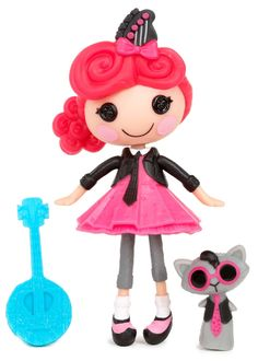 Amazon.com: Mini Lalaloopsy Doll- Strings Pick 'N' Strum: Toys & Games