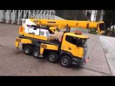 Bruder Construction Machines for kids Bruder Big Crane Working