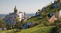 Hundertwasser - Bad Blumau Austria - Rogner Hotel and thermal resort