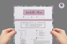 Super chic  modern resume template package : CV by TemplatesShop