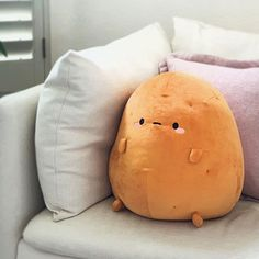 Japanese New Year, Kawaii Room, Cute Pillows, Food Pillows, Throw Pillows, Cute Room Decor, Cute Stuffed Animals, Cute Plush, Squishies
