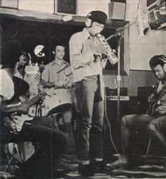 Augustus Pablo  in recording session at Randy's, '74