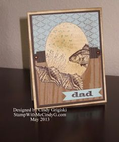 Stamp With Me Cindy G: Stampin Up! By The Sea Stamp Set - Two Ways