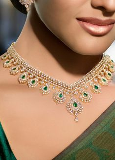 Not that I would ever be going anywhere fancy enough to wear this....but it's beautiful - AND my birthstone  :-) Real Diamond Necklace, Diamond Pendant Necklace, Diamond Necklaces, Luxury Jewelry, Gold Jewellery, Bridal Jewelry, Pandora Jewelry, Fancy, Ideas