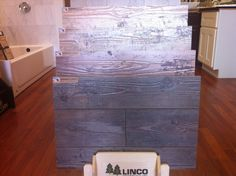 We received new #laminate #flooring from http://www.lincoenterprises.com  BARNWOOD CLASSICS