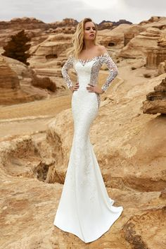 1001618a9a AMADEA wedding dress by OKSANA MUKHA Dream Wedding Dresses
