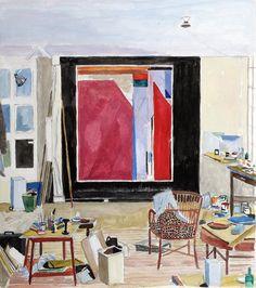 Diebenkorn's Studio  in Santa Monica by Damian Elwes