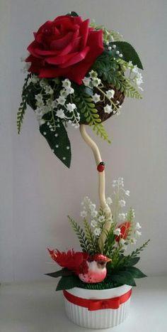 Bird and flower tree