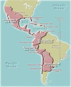 Great map of all areas of North America including Central American