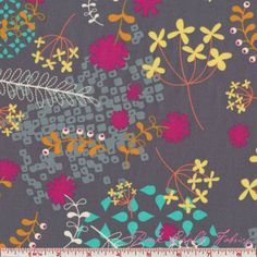 Rashida Coleman, Hale Washi floral gray