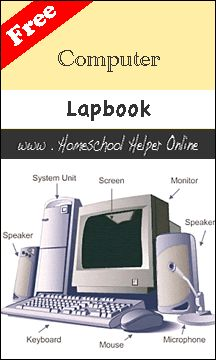 Free Computer Lapbook - Homeschool Helper Online