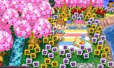 Water Sparkling (thin) Part 1 / Part 2 /... - Animal Crossing Paths