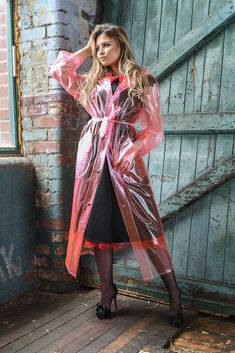 KEMO-Cyberfashion Online store for PVC, Plastic and vinyl clothing made from Unbacked PVC, Stretch PVC, Plastic, Vinyl and Rubber - - PVC Raincoat Unisex Raincoat Outfit, Plastic Raincoat, Yellow Raincoat, Plastic Pants, Hooded Raincoat, Clear Raincoat, Imper Pvc, Vinyl Clothing, Raincoats For Women
