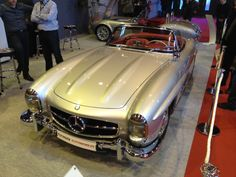 Mercedes 300 SL at 2014 Retromobile, Paris