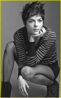 Selma Blair by Annie Leibovitz for The Gap 2007