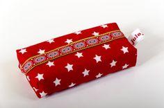 Taschentücher-Taschen - Taschentüchertasche Tatüta - ein Designerstück von julejuch bei DaWanda