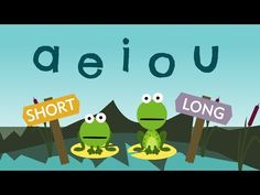 Vowel activities: ▶ The Long & Short Vowels Song ♫♪♫ - YouTube 1:55