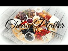 The Ultimate Appetizer Cheese Platter | Gulbesugar - YouTube