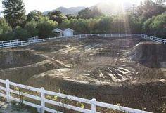 Backyard Motocross track... yea...