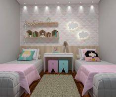 Quarto para dormir e brincar. Qual criança não gostaria de ter dentro do quarto um cantinho bem bacana para brincar à vontade?