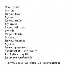 pinterest: cynthia_go | cynthia go, quotes, poetry, poem, love poem, love quotes, heartbreak quotes, quotes about him, soulmates, spilled ink, tumblr, kiss quotes