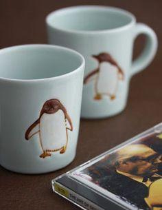 季器窯・庄田 春海マグカップ (ペンギン)                                                                                                                                                                                 もっと見る