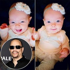 Ice-T Admits He's Obsessed with Taking Photos of Daughter Chanel: 'I Said I'm Not Going to Be That Guy' - We publish good gifts idea Ice T Baby, Baby Chanel, Coco Chanel, Ice T And Coco, Living Dolls, Baby Girl Names, Celebrity Babies, Beautiful Person, Mom And Baby