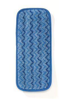 "11"" Microfiber Wall/Stair Damp Mop: Premium split nylon/polyester blend microfiber provides optimal damp mopping performance."